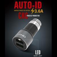 QCH3 vysokorychlostní nabíječka 2 výstupy USB / 3.6A - 1/4