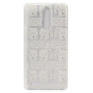 Plastový obal na mobil Lenovo K5 Note - sloni - 2