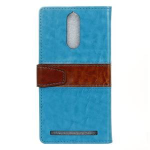 Colory knížkové pouzdro na Lenovo K5 Note - modré - 2