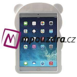 3D Silikonové pouzdro na iPad mini 2 - černá panda - 2