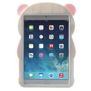 3D Silikonové pouzdro na iPad mini 2 - růžová panda - 2