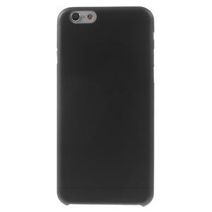 Ultra slim 0.3 mm plastové pouzdro na iPhone 6, 4.7  - černé - 2