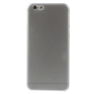 Ultra slim 0.3 mm plastové pouzdro na iPhone 6, 4.7  - šedé - 2