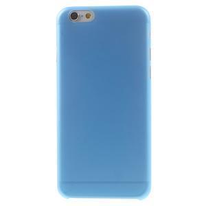 Ultra slim 0.3 mm plastové pouzdro na iPhone 6, 4.7  - modré - 2
