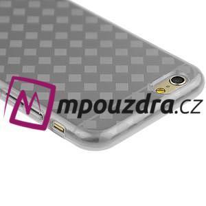Gelové koskované pouzdro na iPhone 6, 4.7 - šedé - 2