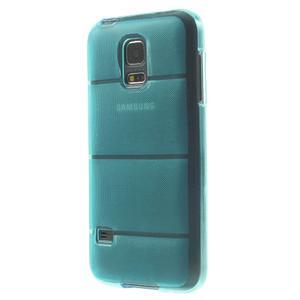 Gelové pouzdro na Samsung Galaxy S5 mini G-800- vesta světlemodrá - 2