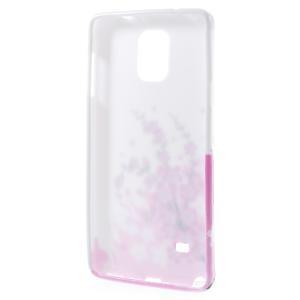 Gelové pouzdro na Samsung Galaxy Note 4- kvetoucí větvička - 2
