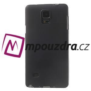 Gelové pouzdro na Samsung Galaxy Note 4- černé - 2