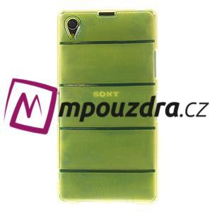 Gelové Body pouzdro na Sony Xperia Z1 C6903 - zelené - 2