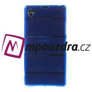 Gelové Body pouzdro na Sony Xperia Z1 C6903 - modré - 2