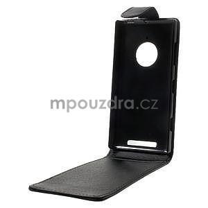 Flipové pouzdro na Nokia Lumia 830 - černé - 2