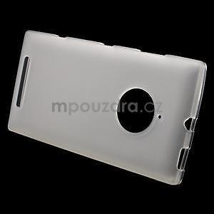 Gelové matné pouzdro na Nokia Lumia 830 - transparentní - 2