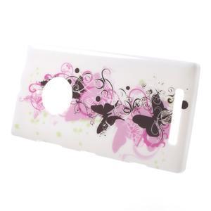 Gelové pouzdro na Nokia Lumia 830 - květ motýla - 2
