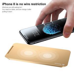Coils bezdrátová nabíječka pro mobilní telefony - zlatá - 2