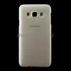 Broušené pouzdro na Samsung Galaxy A3 - bílá - 2
