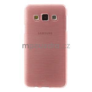 Broušené pouzdro na Samsung Galaxy A3 - růžová - 2