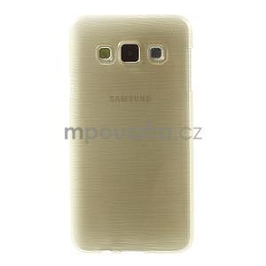 Broušené pouzdro na Samsung Galaxy A3 - zlatá - 2