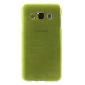 Broušené pouzdro na Samsung Galaxy A3 - zelená - 2