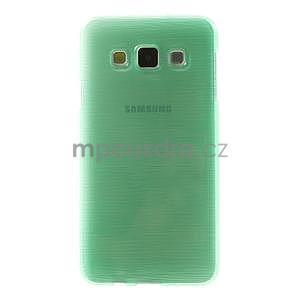 Broušené pouzdro na Samsung Galaxy A3 - světle zelená - 2