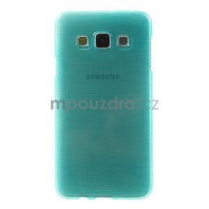 Broušené pouzdro na Samsung Galaxy A3 - tyrkysová - 2