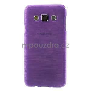 Broušené pouzdro na Samsung Galaxy A3 - fialová - 2