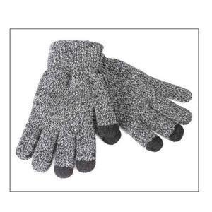 No5 rukavice na dotykové displeje - šedé - 2
