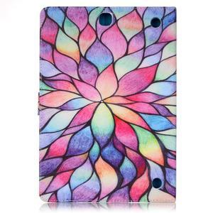 Emotive pouzdro na tablet Samsung Galaxy Tab A 9.7 - malované květy - 2