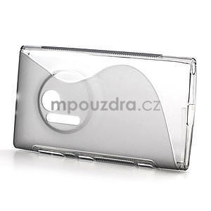 Gelové S-line pouzdro pro Nokia Lumia 1020- šedá - 2