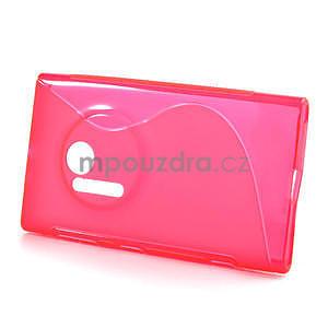 Gelové S-line pouzdro pro Nokia Lumia 1020- růžové - 2