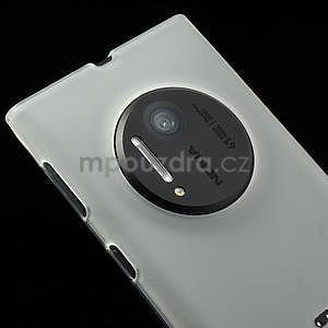 Gelové matné pouzdro pro Nokia Lumia 1020- bílé - 2