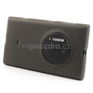 Gelové matné pouzdro pro Nokia Lumia 1020- šedé - 2