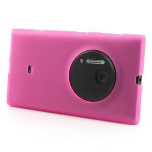 Gelové matné pouzdro pro Nokia Lumia 1020- růžové - 2