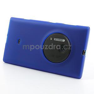 Gelové matné pouzdro pro Nokia Lumia 1020- modré - 2