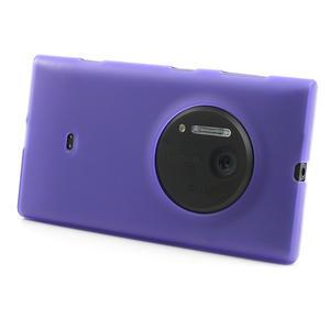 Gelové matné pouzdro pro Nokia Lumia 1020- fialové - 2