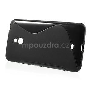 Gelové S-line pouzdro pro Nokia Lumia 1320- černé - 2