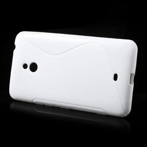 Gelové S-line pouzdro pro Nokia Lumia 1320- bílé - 2