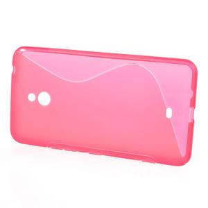 Gelové S-line pouzdro pro Nokia Lumia 1320- růžové - 2