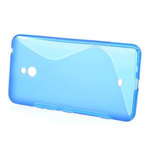 Gelové S-line pouzdro pro Nokia Lumia 1320- modré - 2