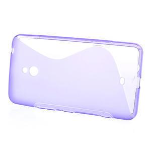 Gelové S-line pouzdro pro Nokia Lumia 1320- fialové - 2