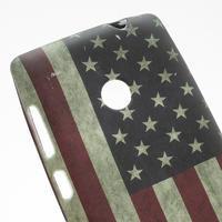 Gelové pouzdro na Nokia Lumia 520- USA vlajka - 2/3