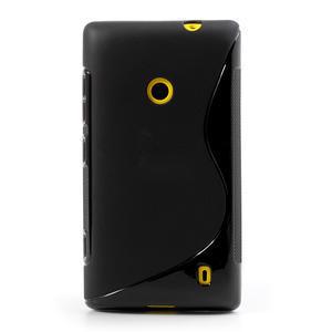 Gelové S-line pouzdro na Nokia Lumia 520- černé - 2
