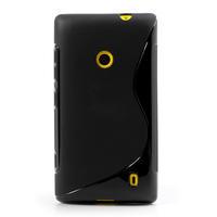 Gelové S-line pouzdro na Nokia Lumia 520- černé - 2/6