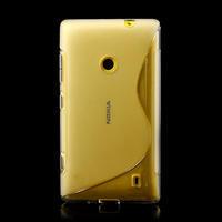 Gelové S-line pouzdro na Nokia Lumia 520- transparentní - 2/6