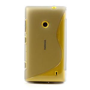 Gelové S-line pouzdro na Nokia Lumia 520- šedé - 2
