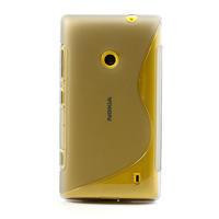 Gelové S-line pouzdro na Nokia Lumia 520- šedé - 2/7