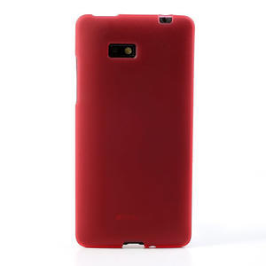 Gelové matné pouzdro pro HTC Desire 600- červené - 2