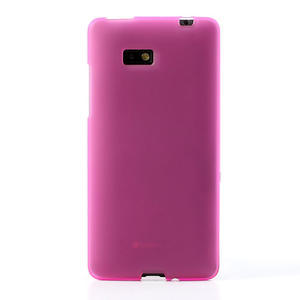 Gelové matné pouzdro pro HTC Desire 600- růžové - 2