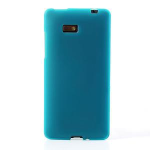 Gelové matné pouzdro pro HTC Desire 600- světlemodré - 2