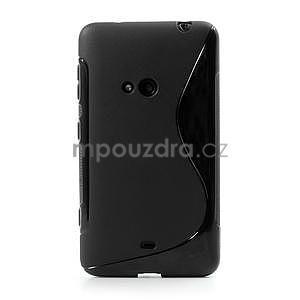 Gelové S-line pouzdro pro Nokia Lumia 625- černé - 2