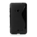 Gelové S-line pouzdro pro Nokia Lumia 625- černé - 2/6